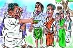 வெற்றிலை மீது சத்தியம் வாங்கி ஓட்டு சேகரிப்பு!