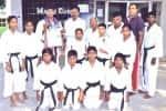 தேசிய கராத்தே போட்டி புதுச்சேரி வீரருக்கு பதக்கம்