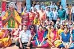 5 தலைமுறை கண்ட 101 வயது மூதாட்டி ஊர் மக்களுடன் சேர்ந்து பிறந்த நாள் கொண்டாட்டம்