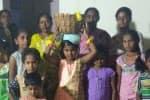 வேடசந்துார் அருகே 'நிலாப்பெண்' திருவிழா