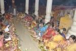 மாரியம்மன் கோவிலில் திருவிளக்கு பூஜை