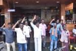 ஓட்டலில் காதலர் தின சலுகை : ஹிந்து முன்னணி அமைப்பினர் போராட்டம்