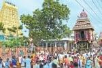 ராமேஸ்வரத்தில் மாசி தேரோட்டம்