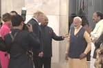 மட்டன் பிரியாணி, குங்குமப்பூ ரைத்தா; டிரம்புக்கு ஜனாதிபதி விருந்து