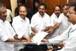 ராஜ்யசபா தேர்தல் : அதிமுக வேட்பாளர்கள் வேட்புமனு
