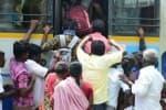 144 தடை உத்தரவு எதிரொலி:   வௌியூர் பயணிகள் அவதி