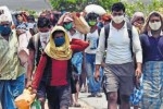 இயல்பு நிலை திரும்பியதும் மீண்டும் வருவோம்: வெளிமாநில தொழிலாளர்கள்  கண்ணீர் பேட்டி