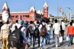ஒரு லட்சம் புலம்பெயர் தொழிலாளர்கள் அனுப்பி வைக்கப்பட்டனர்: தமிழக அரசு