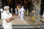 திருமலையில் 2 மணி நேரத்தில் 1,200 பேர் தரிசனம்