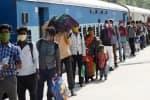 'ஷ்ராமிக்' சிறப்பு ரயிலால் வைரஸ் பரவியது': நிதி ஆயோக்