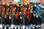 ரஷ்ய பேரணியில் வீர நடை போட்ட இந்திய ராணுவ வீரர்கள்