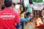 'பட்டினி கிடப்போம் துரோகம் இழைக்கமாட்டோம்': 'சொமேட்டோ'  பணியாளர்கள்