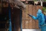 மேற்குபதியில் கர்ப்பிணிக்கு தொற்று :கிராமத்தினருக்கு மருத்துவ பரிசோதனை