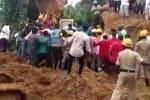 கர்நாடகா: நிலச்சரிவில் சிக்கி  இரண்டு சிறுவர்கள் பலி