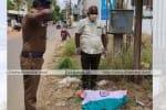 உயிரிழந்த மயிலுக்கு தேசியக்கொடி: போலீசுக்கு கமிஷனர் எச்சரிக்கை