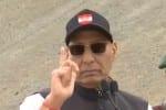 இந்தியாவின் ஒரு அங்குல நிலத்தைக் கூட தொடமுடியாது: ராஜ்நாத்சிங்