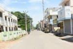 முழு ஊரடங்கு: நகர பகுதியில் கிருமிநாசினி தெளிப்பு