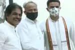 ராஜஸ்தான்: எம்.எல்.ஏ.க்கள் ஆலோசனை கூட்டத்தில் கெலாட், சச்சின் பங்கேற்பு