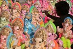 ரூ.100 கோடி விநாயகர் சிலைகள் தேக்கம்