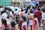 வாலிபர் மரணம்: கலெக்டர் கார் முற்றுகை