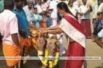 'பஞ்சகல்யாணி திருக்கல்யாணம்':  மழை வேண்டி கிராம மக்கள் வினோத வழிபாடு