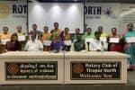 ஆசிரியர்களுக்கு விருது: வடக்கு ரோட்டரி வழங்கல்
