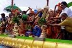 பெரிய ஆண்டவர் கோவிலில்  கும்பாபிஷேக கோலாகலம்