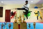 பயிற்சியும்... முயற்சியும்... இருந்தால் சாதிக்கலாம்: சொல்கிறார் டேக்வாண்டோ வீரர் சரண் பிரசன்னா