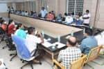 பாதாள சாக்கடை பணி: ஆய்வுக்கூட்டத்தில் துணை சபாநாயகர் ஆதங்கம்