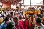 பந்தளத்திலிருந்து திருவாபரணம் புறப்பட்டது: நாளை மாலை 6:30-க்கு மகரஜோதி