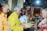 ரஜினி திருமண நாளையொட்டி உத்தரகோசமங்கையில் லட்சார்ச்சனை