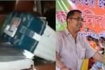 பா.ஜ., வேட்பாளரின் காரில் வாக்கு இயந்திரம் - 4 அதிகாரிகள் சஸ்பெண்ட்
