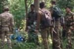 நக்சல்களுடன்  மோதல்:  பாதுகாப்பு படை வீரர்கள் 5 பேர் வீரமரணம்