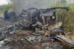 வேன் - லாரி மோதி விபத்து ஓட்டளிக்க வந்த 3 பேர் பலி