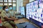 150 கேமரா கண்காணிப்பில் ஓட்டு எண்ணும் மையம்! பாதுகாப்பு பணியில் 300 பேர்