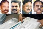 கமல், சீமான் கட்சிகளுக்கு ஓட்டு: தினகரன், விஜயகாந்த் கட்சிகள் 'ஷாக்'