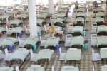 கொரோனா தாக்கம் அதிகரிப்பு: டில்லியில் 200 தற்காலிக படுக்கை அமைப்பு
