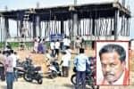 'மாஜி' அமைச்சர் ஆக்கிரமித்த 10 ஏக்கர் கோவில் நிலம் மீட்பு: அறநிலையத்துறை நடவடிக்கை