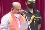 கர்நாடக முதல்வராக பசவராஜ் பொம்மை பதவியேற்றார்