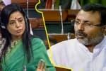 அவதூறு பேச்சு : திரிணமுல் காங். பெண் எம்.பி.,மீது பா.ஜ., எம்.பி. புகார்
