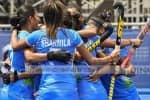 இந்திய பெண்கள் ஹாக்கி அணி அரையிறுதிக்கு முன்னேறி சாதனை