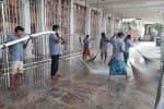 தமிழக கோவில்களில் 3 நாள் 'மாஸ் கிளீனிங்'
