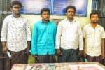 தேர்தல் மோதல் கொலை 4 பேர் கைது; மூவர் சரண்
