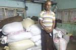 2 டன் ரேஷன் அரிசி பறிமுதல்; ஒருவர் கைது