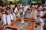 குரு சித்தானந்த சுவாமி கோவிலில் காயத்ரி ஹோமம்