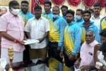 தேசிய கிக்பாக்சிங் போட்டி வீரர்களுக்கு அமைச்சர் வாழ்த்து