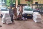 2 கார்களுடன் குட்கா பறிமுதல்: 2 பேர் கைது