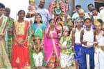 'கிருஷ்ணர், ராதை' :குட்டீஸ் அமர்க்களம்