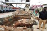 'எஸ்கலேட்டர்' அமைக்கும் பணி  செங்கை ரயில் நிலையத்தில் விறுவிறு