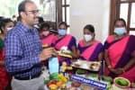 'போஷன் அபியான்' திட்டத்தில் ஊட்டச்சத்து விளக்க கண்காட்சி